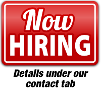 Now Hiring - Click Here for details